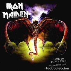 CDs de Música: IRON MAIDEN - LIVE AT DONINGTON -2XCD REMASTERIZADO. Lote 107651551