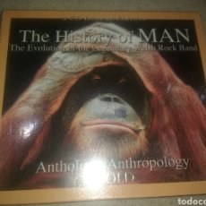 CDs de Música: HISTORY OF MAN EVOLUTION 2 CD DELUXE EDITION. Lote 107668984