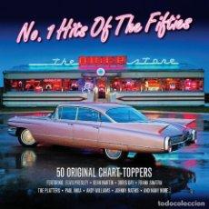 CDs de Música: Nº 1 HITS OF THE FIFTIES 50'S * 2CD * LTD FUNDA ESPECIAL * PRECINTADO. Lote 107680975
