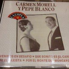CDs de Música: CARMEN MORELL Y PEPE BLANCO / LA COPLA 9 / CD / DIVUCSA-1991 / 14 TEMAS / PRECINTADO.. Lote 107699867