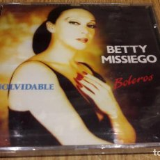 CDs de Música: BETTY MISSIEGO, INOLVIDABLE / BOLEROS / CD / DIVUCSA-1991 / 12 TEMAS / PRECINTADO.. Lote 107708715