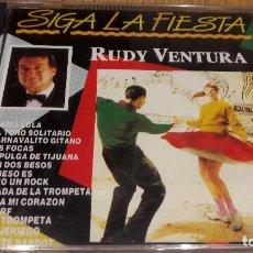 CDs de Música: RUDY VENTURA / SIGA LA FIESTA / CD / DIVUCSA-1990 / 12 TEMAS / PRECINTADO.. Lote 107708903