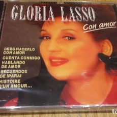 CDs de Música: GLORIA LASSO / CON AMOR / CD / DIVUCSA - 1991 / 9 TEMAS / PRECINTADO.. Lote 107710583
