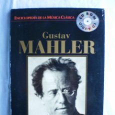 CDs de Música: ENCICLOPEDIA DE LA MUSICA CLASICA Nº 13. GUSTAV MAHLER. Lote 107711027
