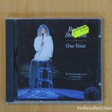 CDs de Música: BARBRA STREISAND - ONE VOICE - CD. Lote 107717122