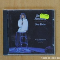 CDs de Música: BARBRA STREISAND - ONE VOICE - CD. Lote 107717196