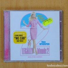 CDs de Música: VARIOS - LEGALLY BLONDE 2 BSO - CD. Lote 107719242