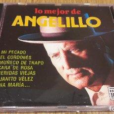 CDs de Música: LO MEJOR DE ANGELILLO / CD / DIVUCSA - 1992 / 10 TEMAS / CALIDAD LUJO.. Lote 107725267