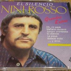 CDs de Música: NINI ROSSO - EL SILENCIO / GRANDES ÉXITOS / CD / DIVUCSA - 1989 / 12 TEMAS / CALIDAD LUJO.. Lote 107726231