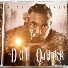 CDs de Música: CD - DON OMAR, KING OF KINGS - 2006. Lote 107741135