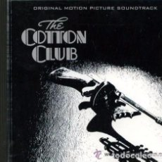 CDs de Música: THE COTTON CLUB - FRANCIS COPPOLA - BANDA SONORA CD (ALEMANIA-GEFFEN-1984) . Lote 107756359