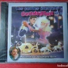 CDs de Música: CD. CON LOS CUENTOS DE CENDRILLÓN. EN FRANCÉS, LES CONTES ÉTERNELS CENDRILLÓN VOLUMEN 2. Lote 107763027
