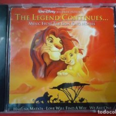 CDs de Música: CD. THE LEGEND CONTINUES...MÚSIC FROM THE KING MOVIES. 1,- 2,- 3,-. Lote 107763103