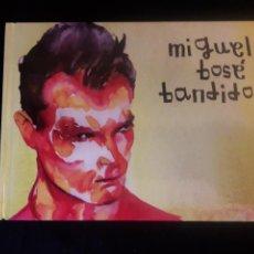 CDs de Música: MIGUEL BOSE CD LIBRO BANDIDO SONY 1992. Lote 107776092