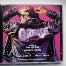 CDs de Música: GREASE EL MUSICAL. CD GEM 00001. ESPAÑA 2011. EDURNE. JORDI COLL. MANU GUIX. . Lote 152045802