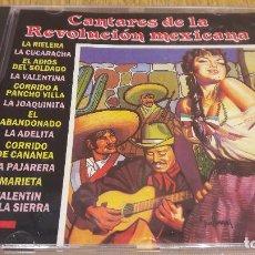 CDs de Música: HERMANOS ZAIZAR. CANTARES DE LA REVOLUCIÓN MEXICANA. CD / DIVUCSA - 1990. 12 TEMAS / PRECINTADO.. Lote 107791867
