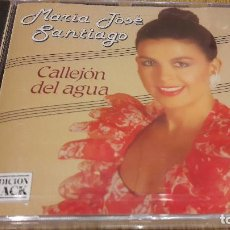 CDs de Música: MARÍA JOSÉ SANTIAGO / CALLEJÓN DEL AGUA / CD / DIVUCSA - 1992 / 8 TEMAS / PRECINTADO.. Lote 207161086