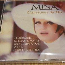 CDs de Música: MINA / CANCIONES DE ORO / CD / DIVUCSA - 1991 / 14 TEMAS / PRECINTADO / MUY DIFÍCIL !!!. Lote 107794767