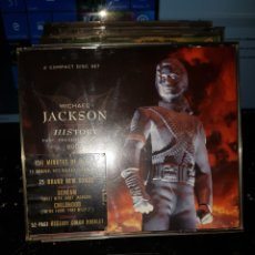 CDs de Música: CDS 12//MICHAEL JACKSON HISTORY//2CDS. Lote 107804300