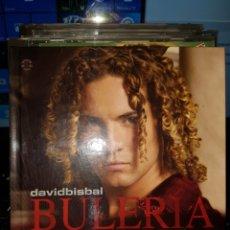 CDs de Música: CDS8//DAVID BISBAL//BULERIA. Lote 107804418