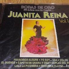 CDs de Música: JUANITA REINA / VOL 1 / BODAS DE ORO / CD / DIVUCSA - 1991 / 14 TEMAS / PRECINTADO.. Lote 107829679