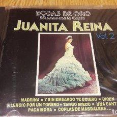 CDs de Música: JUANITA REINA / VOL 2 / BODAS DE ORO / CD / DIVUCSA - 1991 / 14 TEMAS / PRECINTADO.. Lote 191609632