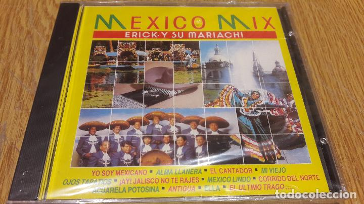 ERICK Y SU MARIACHI / MEXICO MIX / CD / DIVUCSA - 1991 / 8 TEMAS / PRECINTADO / MUY DIFÍCIL. (Música - CD's Latina)