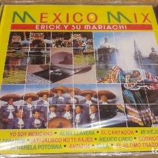 CDs de Música: ERICK Y SU MARIACHI / MEXICO MIX / CD / DIVUCSA - 1991 / 8 TEMAS / PRECINTADO / MUY DIFÍCIL.. Lote 107831895