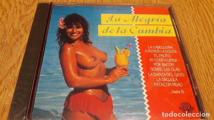 LA ALEGRÍA DE LA CUMBIA / CD / DIVUCSA - 1990 / 16 TEMAS / PRECINTADO. (Música - CD's Latina)