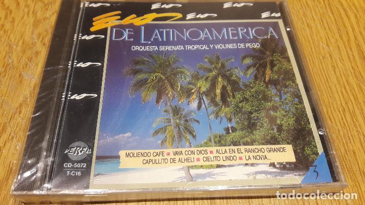 ORQUESTA SERENATA TROPICAL / ECOS DE LATINOAMÉRICA / CD / DIVUCSA / PRECINTADO. (Música - CD's Latina)