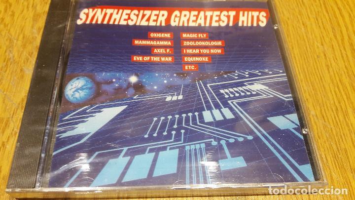 SYNTHESIZER / GREATEST HITS / CD / DIVUCSA - 1990 / 14 TEMAS / PRECINTADO. (Música - CD's Disco y Dance)