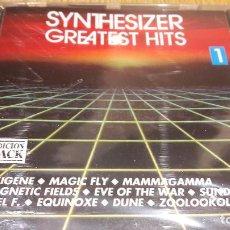CDs de Música: SYNTHESIZER / GREATEST HITS 1 / CD / DIVUCSA - 1990 / 10 TEMAS / PRECINTADO.. Lote 107840099