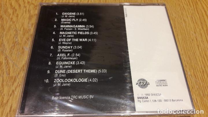 CDs de Música: SYNTHESIZER / GREATEST HITS 1 / CD / DIVUCSA - 1990 / 10 TEMAS / PRECINTADO. - Foto 2 - 107840099