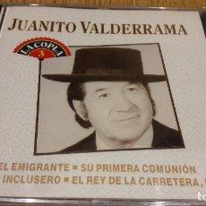 CDs de Música: JUANITO VALDERRAMA / LA COPLA 3 / CD / DIVUCSA - 1991 / 14 TEMAS / PRECINTADO.. Lote 107845035