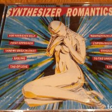 CDs de Música: SYNTHESIZER ROMANTICS / CD / DIVUCSA - 1990 / 14 TEMAS / PRECINTADO.. Lote 107847167
