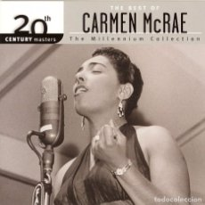 CDs de Música: THE BEST OF CARMEN MCRAE. Lote 107851995