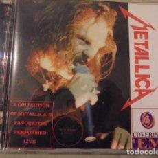 CDs de Música: LIVE BOOTLEG PIRATA METALLICA - CON COVERS DE OTRAS BANDAS - 1994 - BUEN SONIDO. Lote 107865107