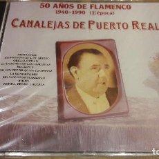CDs de Música: CANALEJAS DE PUERTO REAL / 50 AÑOS DE FLAMENCO 4 / CD / DIVUCSA-1991 /14 TEMAS / PRECINTADO.. Lote 135572475