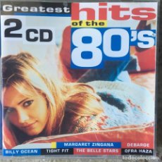 CDs de Música: GREATEST HITS OF THE 80'S - DOBLE CD . 1998 NETHERLANDS. Lote 107893395