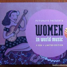 CDs de Musique: PUTUMAYO - WOMEN IN WORLD MUSIC - 3 CD - 2007 - LATIN AMERICA, ACOUSTIC, AFRICA. Lote 107899019
