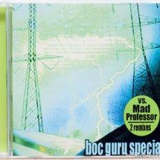 CDs de Música: BOC GURU SPECIAL : VS MAD PROFESSOR 2 REMIXES . Lote 107925651