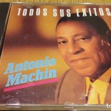 CDs de Música: ANTONIO MACHÍN / TODOS SUS ÉXITOS / CD / DIVUCSA - 1988 / 20 TEMAS / LUJO.. Lote 107927331