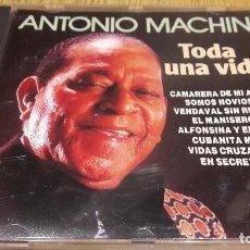 CDs de Música: ANTONIO MACHÍN / TODA UNA VIDA / CD / DIVUCSA - 1990 / 14 TEMAS / CALIDAD LUJO.. Lote 107927611
