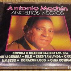 CDs de Música: ANTONIO MACHÍN / ANGELITOS NEGROS / CD / DIVUCSA - 1990 / 14 TEMAS / PRECINTADO.. Lote 107927863