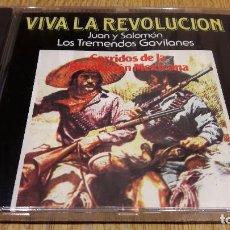 CDs de Música: JUAN Y SALOMON. LOS TREMENDOS GAVILANES / VIVA LA REVOLUCIÓN / PRECINTADO / RARO.. Lote 107929295