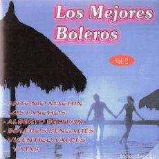 CDs de Música: LOS MEJORES BOLEROS VOL. 2. Lote 107967711