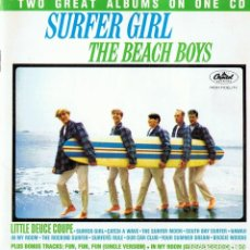 CDs de Música: SURFER GIRL ¨THE BEACH BOYS¨ (CD). Lote 107969279