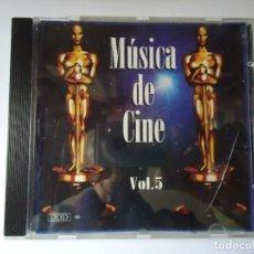 CDs de Música: CD. MÚSICA DE CINE VOLUMEN, 5,- CON 8 TEMAS.. Lote 107990367