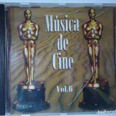 CDs de Música: CD. MÚSICA DE CINE VOLUMEN, 6,- CON 8 TEMAS.. Lote 107990583