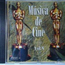 CDs de Música: CD. MÚSICA DE CINE VOLUMEN, 8,- CON 8 TEMAS.. Lote 107990799